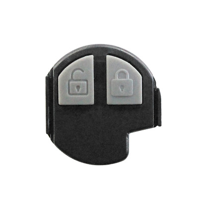 Eraser 2 Buttons Replacement Remote Control Key Shell Black and Grey Suzuki...