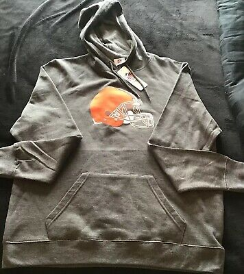 Top CLEVELAND BROWNS NEW Youth Medium Hooded Sweatshirt . NFL Football  hot sale