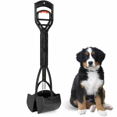 Large Dog Pooper Scooper Pet Waste Scoop Clean Poop XL Long Jumbo Handle Pick Up