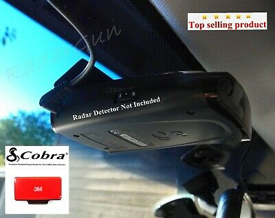 1 x NEW COBRA RADAR DETECTORS Permanent Windshield Mount Good For Most Models
