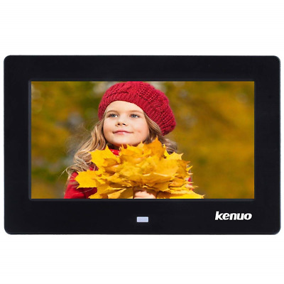 Kenuo 7 Inch Digital Photo Frame Digital Picture Frame 1024x60016:9 LED Screen
