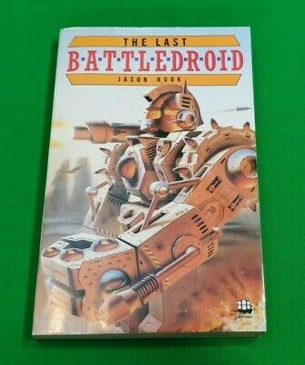 The Last Battledroid ***RARE!!*** Jason Hook Armada Gamebook Fighting Fantasy