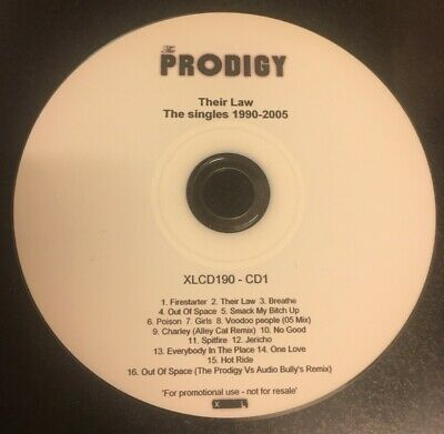 The Prodigy - Their Law: The Singles 1990-2005 XLCD190 CD1-PROMO
