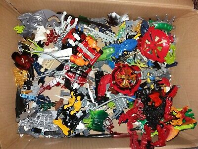 Used Approx 1kg LEGO Bionicle Mixed Random Spare Parts and Pieces Job Lot Bundle
