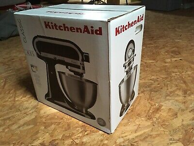 KitchenAid 5K45SSEOB Classic Küchenmaschine Schwarz 4,3L Factory Serviced