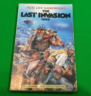 The Last Invasion 1066 ***RARE!*** Real Life Gamebooks Jon Sutherland Dragon #1
