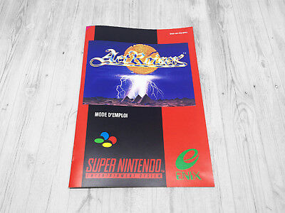 Notice SNES / Booklet : ActRaiser