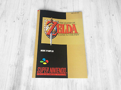 Notice SNES / Booklet : Zelda - A Link to the Past