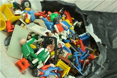 A Job Lot Collection Of Assorted Vintage PLAYMOBIL - Figures and  Accessories