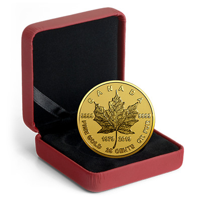 1979-2019 0.5 g Pure Gold Coin - 40th Anniversary of the Gold Maple Leaf
