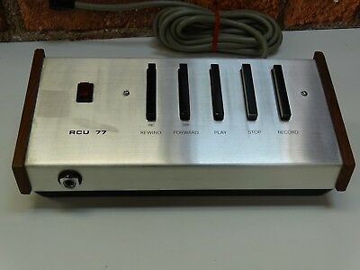 Revox A-77 Reel To reel Tape Recorder Remote Control Unit (Made By Terron Audio)