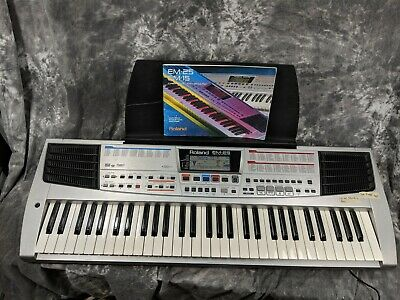 Roland EM-25 Keyboard Good Condition W/Manual.  - Basic Functions Tested  -
