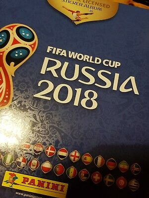 Panini World Cup Russia 2018 COMPLETE SET of 682 stickers & 92 update players