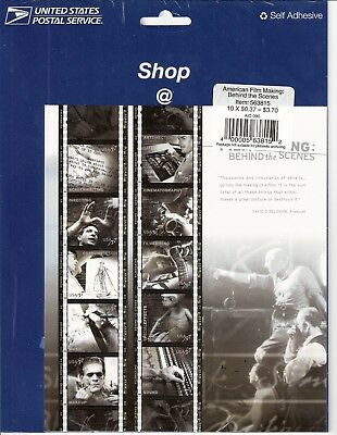 Full Sheet - American Film-making - 3772 - mint never hinged!!  Sealed!!