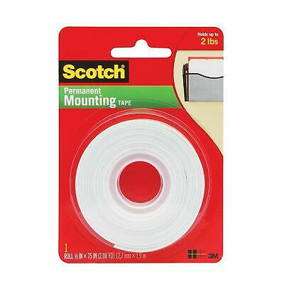 "Scotch 110C Double Sided Mounting Tape, 1/2"" x 75"" - Lot of 30 packs $300"