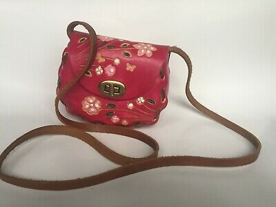 4c359ec116 SIGRID OLSEN PINK Leather Small Bag Purse in good condition -  9.99 ...