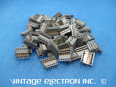 LOT (65) NEW STOCKO IDC CONNECTORS: MKFL 17366-6-0, 6 Position, 2.54 mm, AWG 24