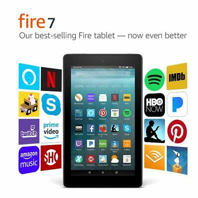 """Amazon fire 7 Tablet Alexa 7"""" Display 8 GB Special Offers 7th Gen"""