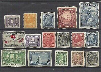 Canada Large Lot of  Misc oldies F-VF MNH selection. Great value! 2 scans