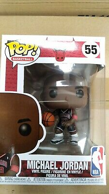 Funko POP NBA Chicago Bulls Michael Jordan Black Jersey Exclusive MINT BOX