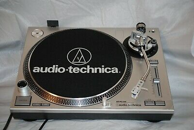 Audio-Technica AT-PL120 Direct Drive Professional Stereo Turntable