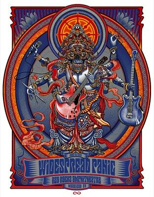 Widespread Panic Red Rocks 2018 SUNDAY 6/24 ZOLTRON Poster Chuck Sperry Tickets