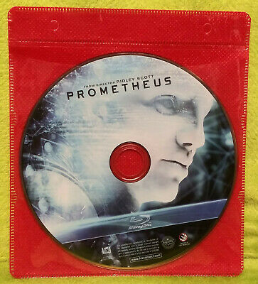 Prometheus (Blu-ray Disc, 2012) Charlize Theron - DISC ONLY - NO CASE or ARTWORK