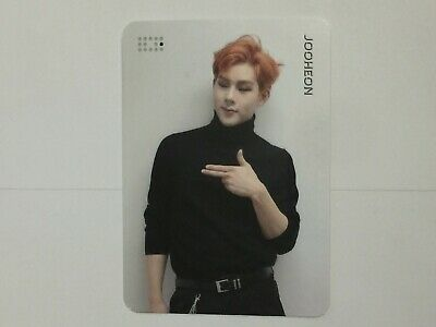 Jooheon Official Photocard Monsta X Are You There Photo Card Album Special Ver