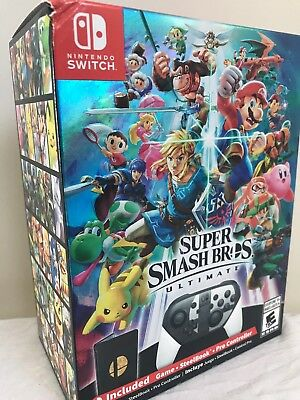 Super Smash Bros. Ultimate Special Edition (Nintendo Switch) - Brand New Sealed