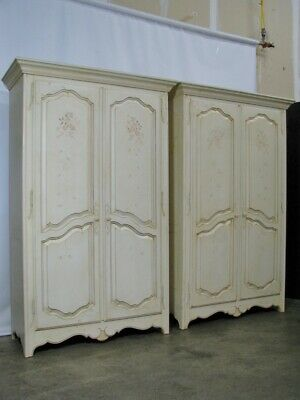 *PAIR* Ethan Allen Country French Provincial Style Armoires; Excellent Condition