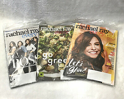 Lot of 2 Rachael Ray Magazines - January / February 2019 and March 2019