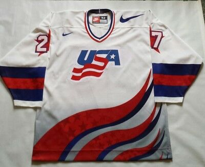 7d90096c914 VINTAGE NIKE USA Hockey Olympic Team Zip Jacket Mens Large -  39.88 ...