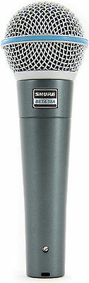 New Shure BETA 58A Vocal Mic  Authorised Dealer Best Deal on eBay!