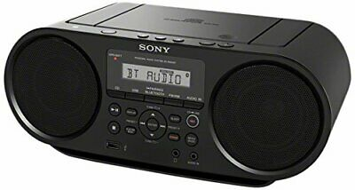 SONY CD Boombox with Bluetooth ZS-RS60BT Personal Audio System - 90Day Warranty