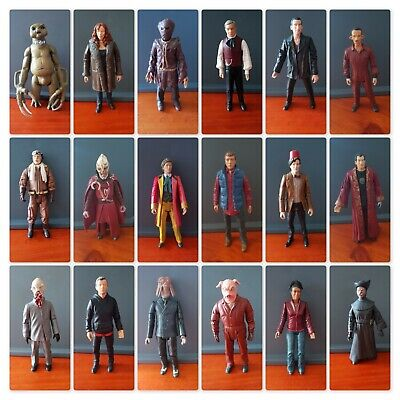 """Doctor Who 5"""" Scale Figures (Will Post)"""