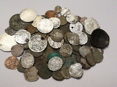 Lot 120 medieval coins, silver and bronze,Hungary, Poland, Germany, Byzantine, O