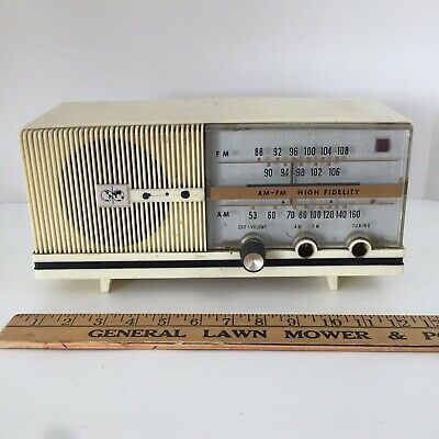 Delmonico Radio Model No. 88U - Vintage Vacuum Tube AM - FM  Made in Japan