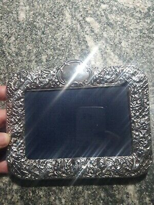 Mara, Inc Hallmarked English Sterling Silver Picture Frame North Wind 4x6