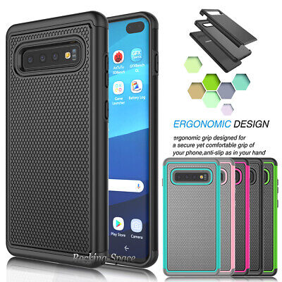 Samsung Galaxy S10 Plus /S10e Case Shockproof Slim Protective Rugged Phone Cover