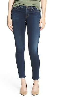80a2d259784 HUDSON COLETTE SKINNY Jeans Dark Wash Denim Made in USA Women's Size ...
