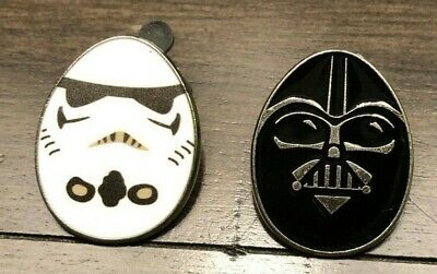 Collectible Disney Trading Pin Star Wars Easter Egg- Darth Vader & Storm Trooper