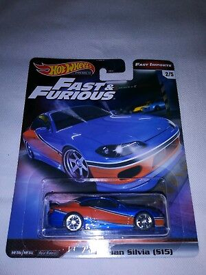 2019 Hot Wheels *Fast & Furious*Nissan Silvia (S15)*NICE*