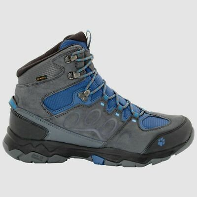 Jack Wolfskin Mtn Attack 5 Mid Texapore Waterproof Mens Shoes Ocean Wave