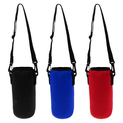 Sports Water Bottle Insulated Bag Pouch Holder Sleeve Carrier 1000ml
