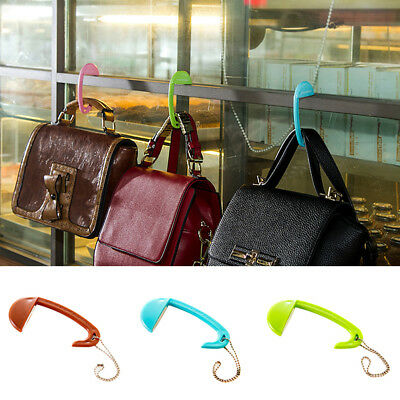 BL_ Portable Removable Bag Hook Table Desk Purse Handbag Holder Mini Hanger Late