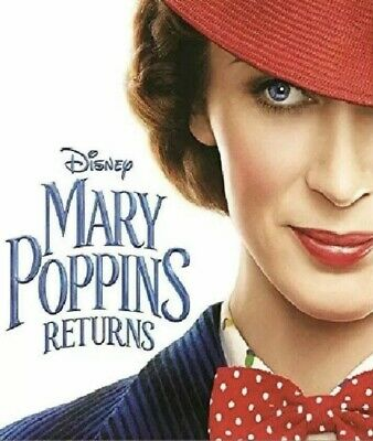 Mary Poppins Returns (DVD,2018) NEW-Comedy, Family- PRE-SALE SHIPS ON 03/19/19