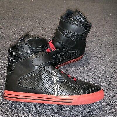 timeless design d2537 6519b Supra TK Society Terry Kennedy Pro Model Black Perf Leather Men s Size 13  RARE