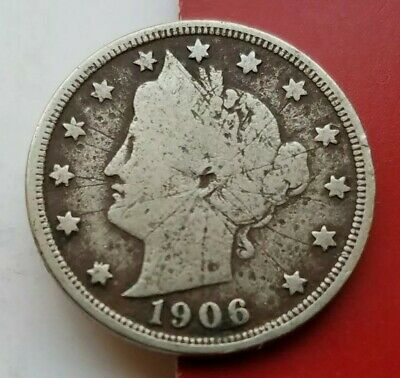 1906 Liberty V Nickel. Nice Vintage Collector Coin For Your Collection