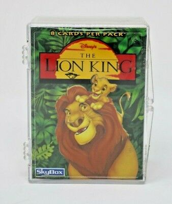 Disney The Lion King Trading Card Base Set Skybox w/ Wrapper Nice!