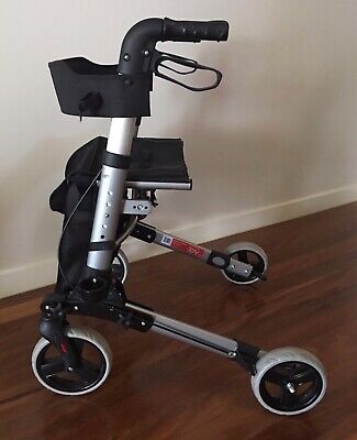 Euro X-Frame Rollator mobility aid walker - cash on pick up preferred